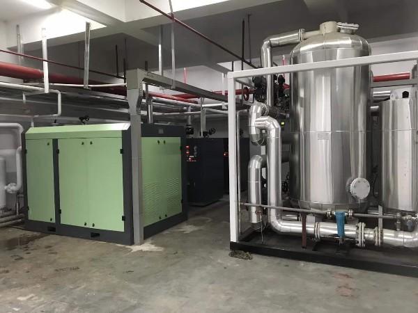 熔喷布行业选择水润滑无油螺杆空压机,你认为适合吗?