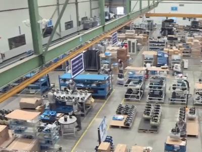 斯可络空压机总部工厂介绍