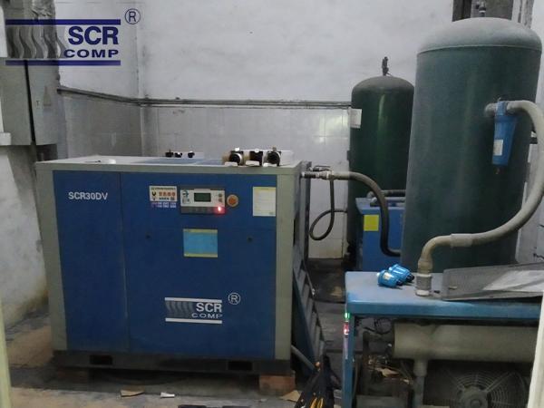 符合熔喷布生产标准用深圳无油空压机?