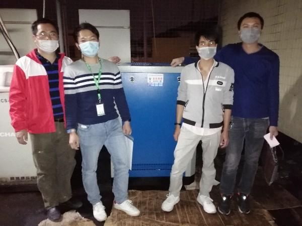生产熔喷布的优良选择——东莞无油空压机!