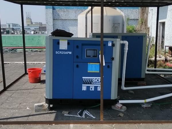 熔喷布配套用的空压机多少钱一台?