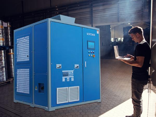 深圳空气悬浮离心鼓风机被应用在顺德污水处理厂
