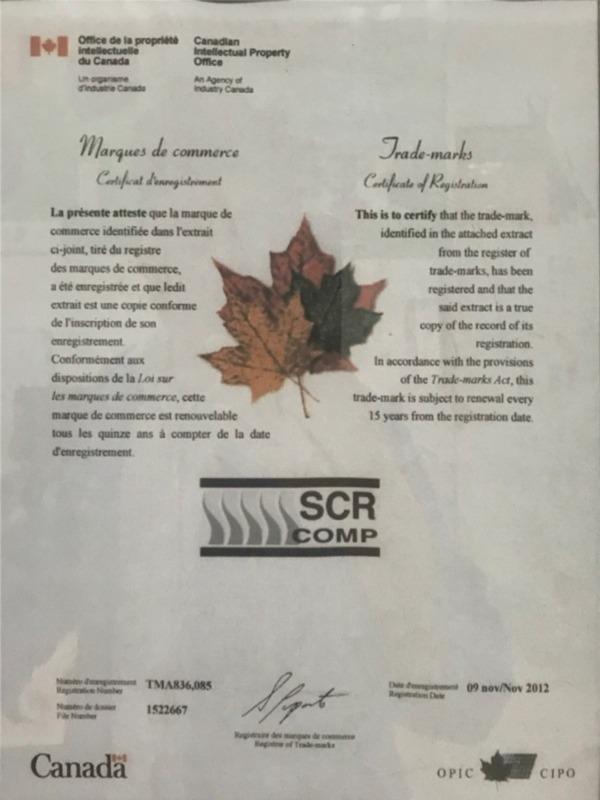斯可络-加拿大注册商标