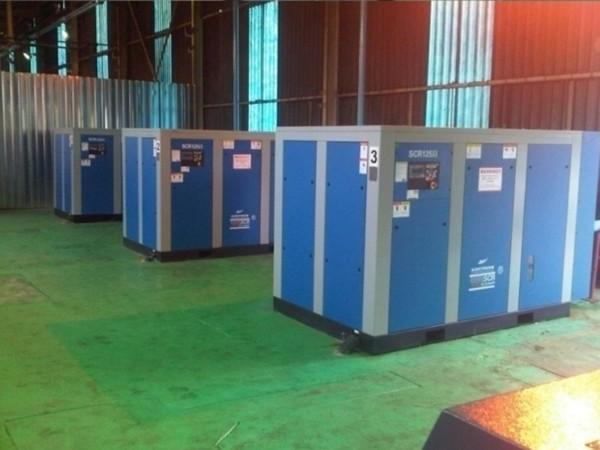 无油螺杆空压机应用于深圳某食品加工厂