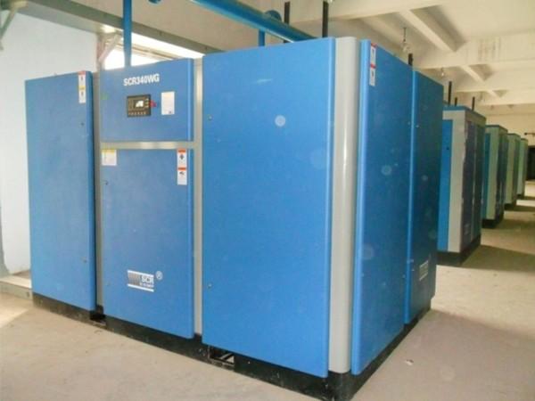 干式无油螺杆空压机应用于深圳某食品厂