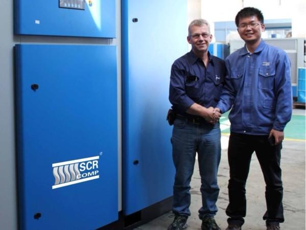 无油螺杆空压机应用于荷兰乳制业