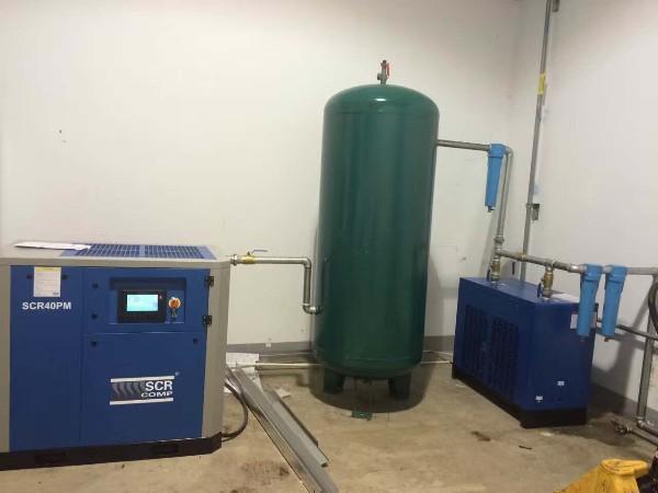 SCR40PM永磁变频空压机应用于某汽车制造厂