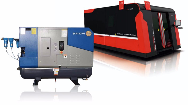激光切割业专用空压机