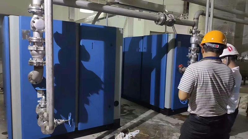 180匹变频干式无油螺杆空压机