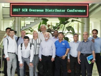 深圳斯可络海外经销商云聚上海参加节能机、无油机技术研讨会