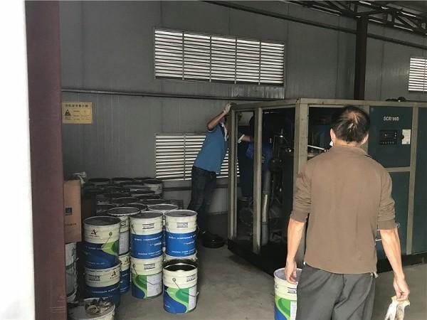 螺杆空压机在喷涂行业的应用案例