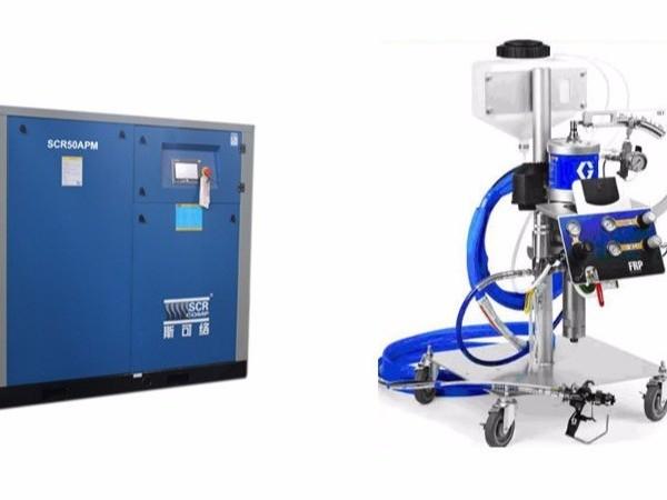 喷涂行业要怎么选择适合的节能空压机?