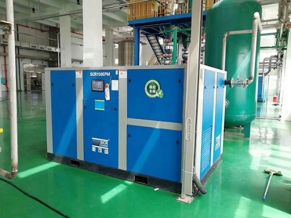 佛山钢管厂低成本投入选深圳节能变频螺杆空压机,节能省电!