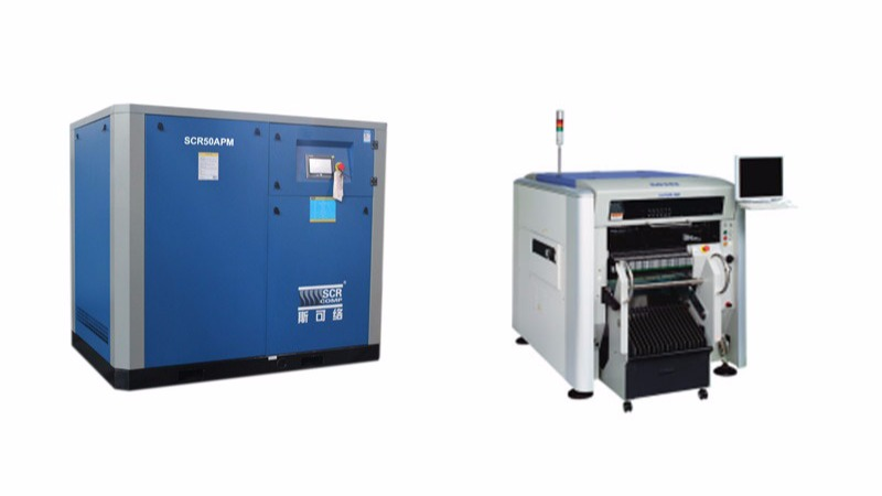 电子SMT贴片机配套专用空压机