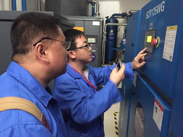 深圳斯可络空压机提醒您年后开机前注意的五个事项