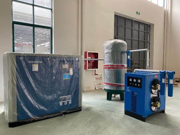 东莞某熔喷布厂选择永磁变频螺杆空压机是正确的