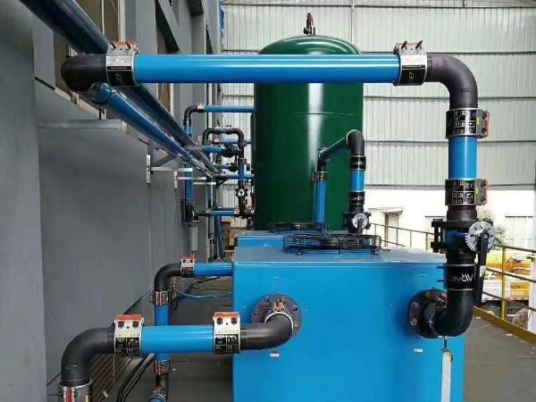 深圳某生物科技空气压缩机系统节能改造选择铝合金管道更节能!