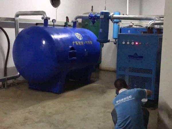 超能永磁变频空压机应用于东莞某塑胶厂