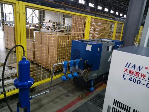 斯可络激光切割专用空压机再次应用在深圳大族激光