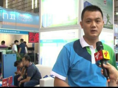 广东新闻频道采访深圳斯可络空压机公司