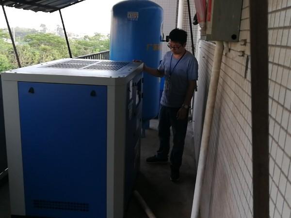 SCR50APM永磁变频空压机应用于深圳电子厂
