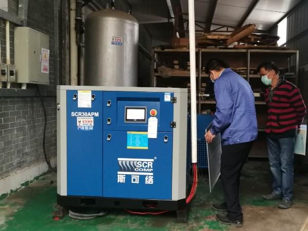 熔喷布专用无油机