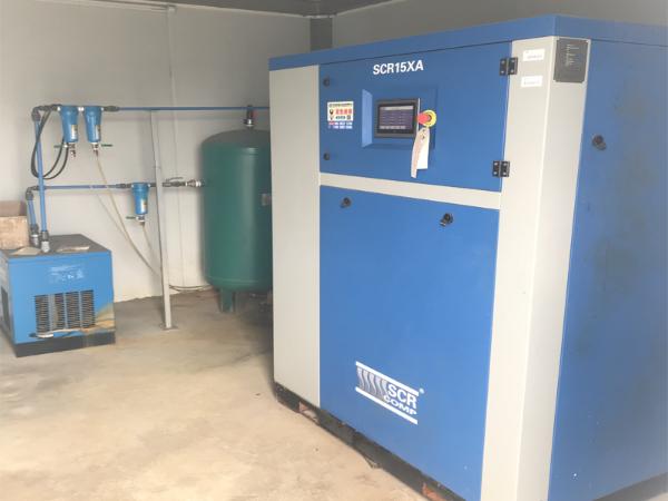 无油涡旋空压机应用于华南理工大学研究室