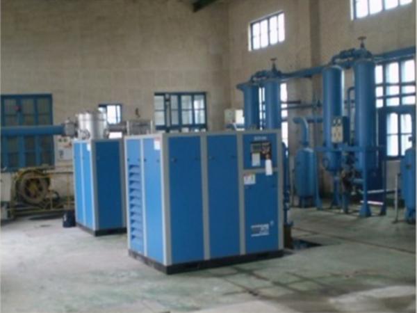 变频螺杆空压机应用于广州某生物研究所