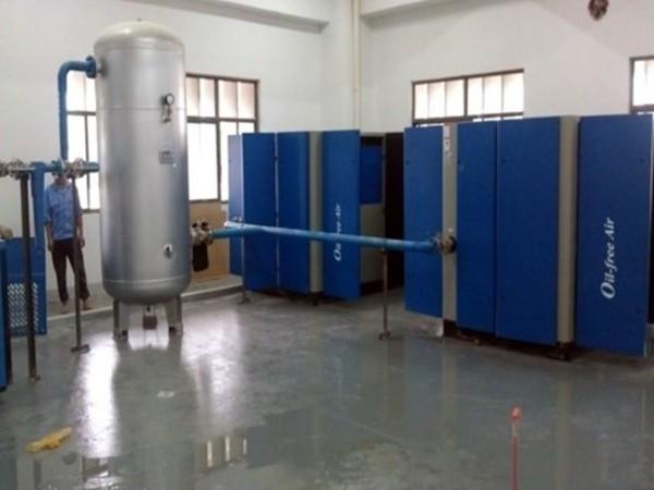 斯可络螺杆空压机应用于医药行业