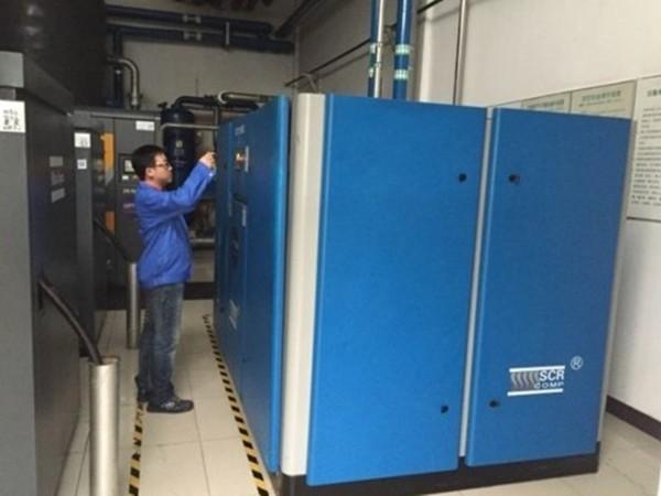 SCR30DV-8变频空压机应用于深圳某食品公司