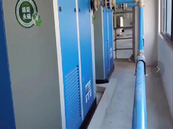 永磁变频螺杆空压机应用于深圳某电缆行业