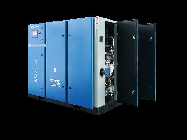 无油螺杆空压机洁净空气满足高标准企业生产!
