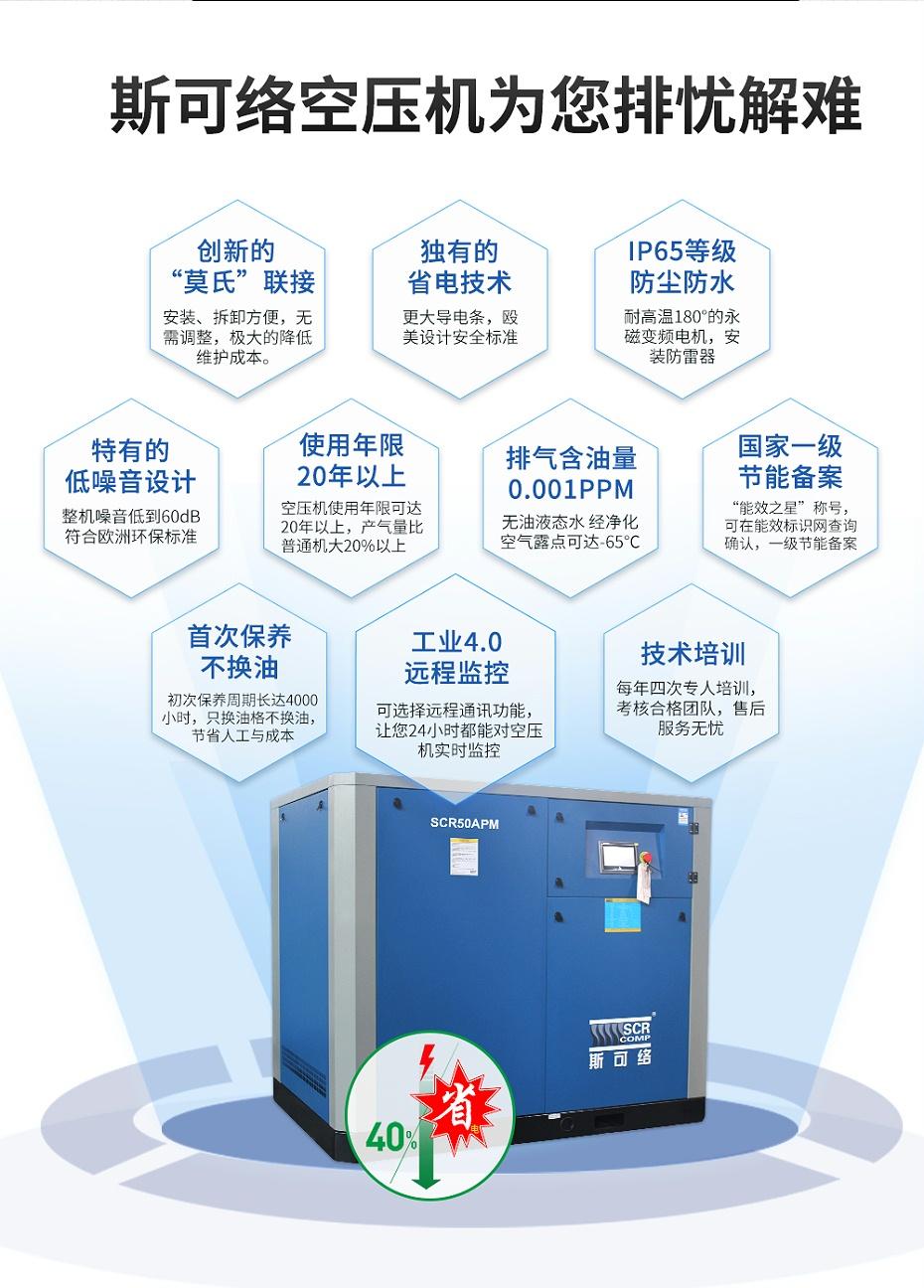 永磁变频空压机优势