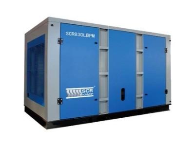 深圳螺杆空压机产生高温现象应从几个方面检查