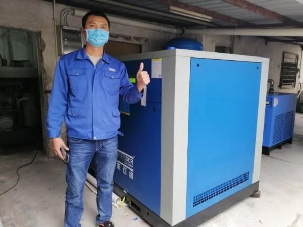 深圳医 疗口罩配套空压机助力伊朗最大口罩厂投产