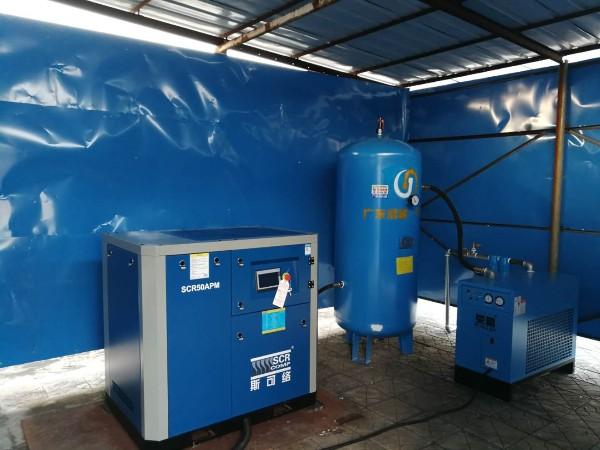 熔喷布配套空压机要怎么配合适?50HP空压机被疯抢?