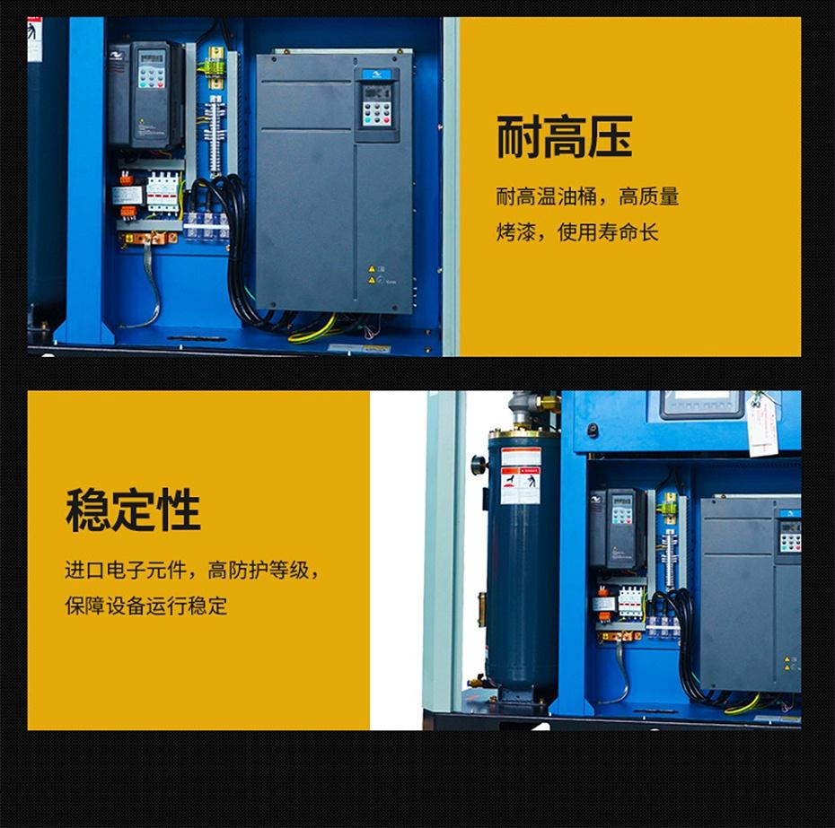 斯可络永磁变频PM系列空压机细节图