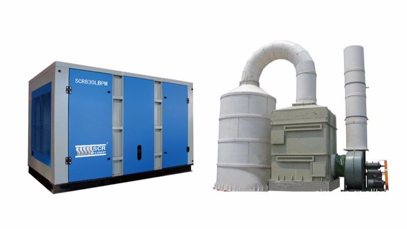 脱硫除尘设备配套专用空压机