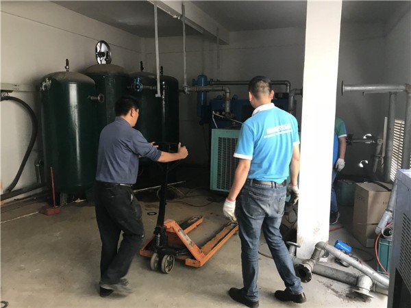 永磁变频螺杆空压机应用于深圳某汽车配件加工厂