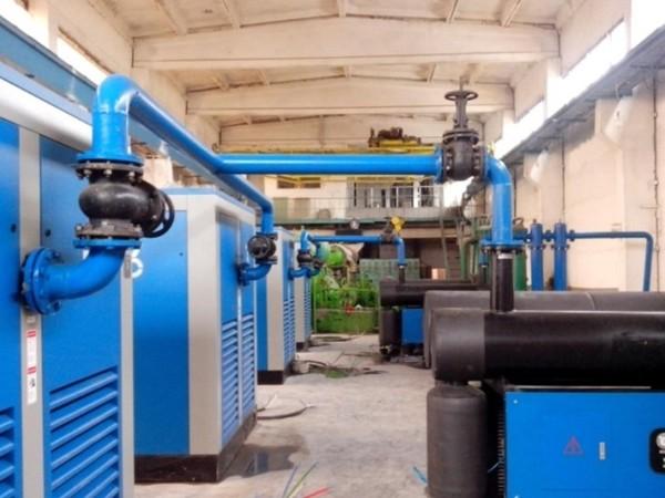 斯可络空压机应用于武汉某汽车制作厂