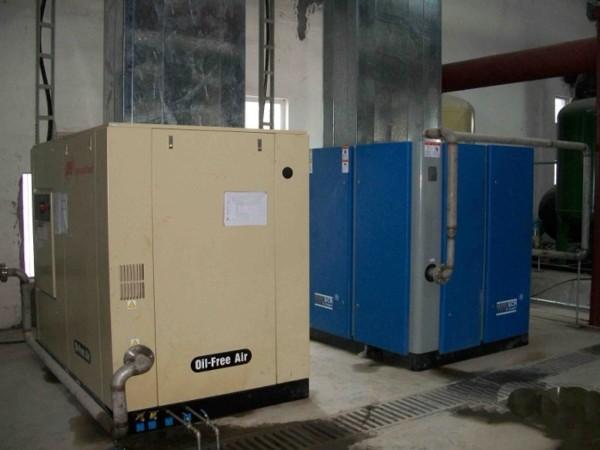 变频螺杆空压机应用于东莞某纺织厂