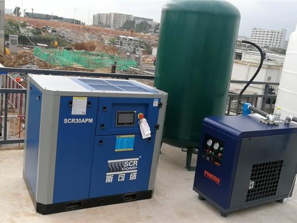 熔喷布专用空压机在生产熔喷布过程中有什么优势?
