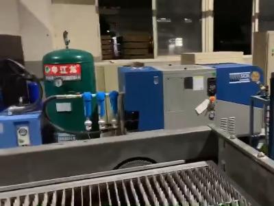 1.6MPA激光切割机配套专用11KW变频螺杆空压机