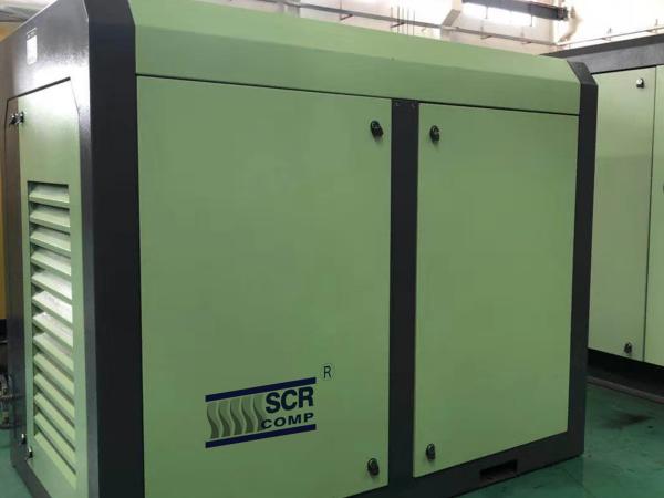 55kw熔喷布配套空压机提供无油压缩空气!