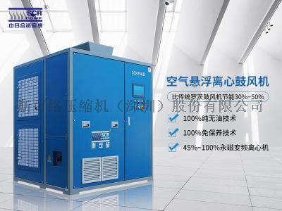 节能改造,新狮印染织造厂选用广东空气悬浮离心鼓风机!
