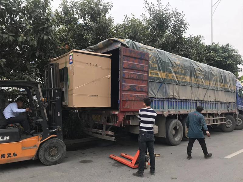 深圳斯可络公司2019年首次9.6米专车直达江西上饶