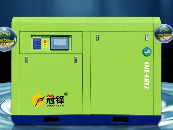 熔喷布专用无油水润滑空压机-1000_01