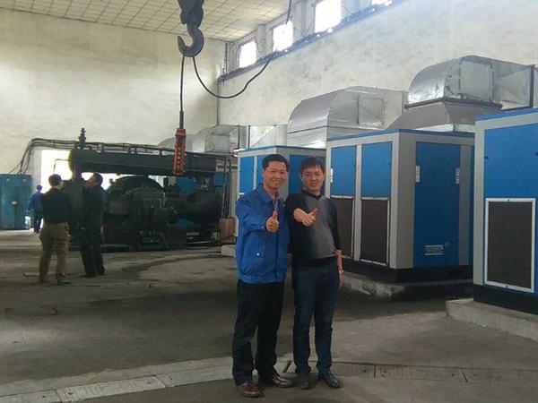 深圳斯可络空压机在汽车行业的应用