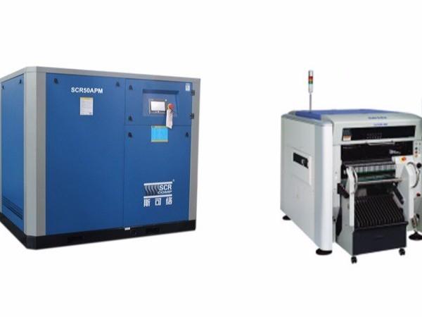 电子行业中应用的贴片机配套空压机要具有什么优势?