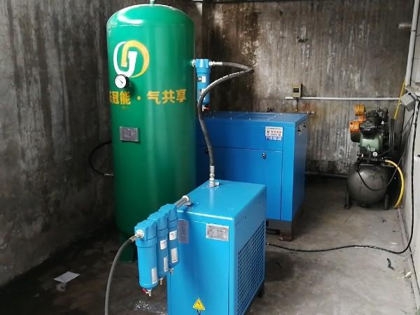 一台SCR20PM永磁变频空压机应用于东莞手机厂